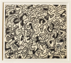 genetic by jean dubuffet