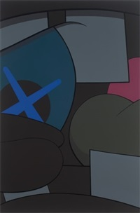 enter by kaws