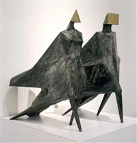 maquette iii jubilee iii c24 by lynn chadwick