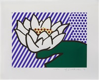 water lily by roy lichtenstein
