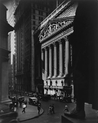 wall street by berenice abbott
