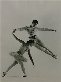 alicia alonso & igor youskevitch by gjon mili