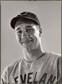 cleveland indians pitcher bob feller by gjon mili