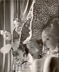 three showgirls from latin quarter by gjon mili