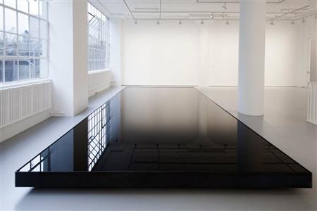 installation view of oil pool by noriyuki haraguchi