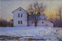 late afternoon, lorch farm by peter poskas