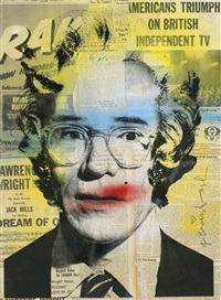 andy warhol by mr. brainwash