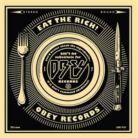 50 shades of black box set: eat the rich by shepard fairey