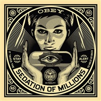 50 shades of black box set: sedation of the millions by shepard fairey
