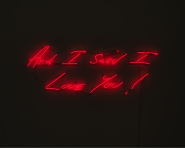 if these walls could talk by tracey emin