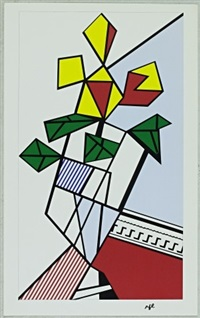 flowers by roy lichtenstein