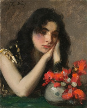 contemplation by irving ramsey wiles