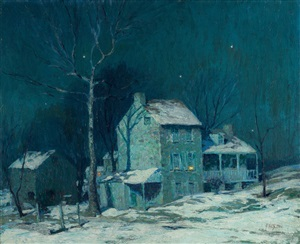 evening by george william sotter