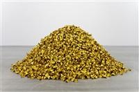 mountain of gold no. 2 by hu qingyan
