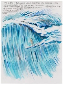 i would rather die before i sell my warhol by raymond pettibon