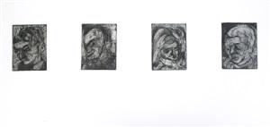 four heads by leon kossoff