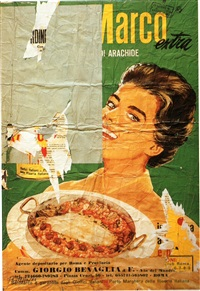 arachidina by mimmo rotella