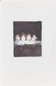 works on paper ii by luc tuymans