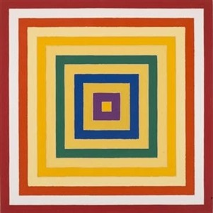 the new york school, 1969 henry geldzahler at the metropolitan museum of art by frank stella