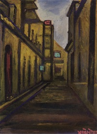 untitled (street scene) by jamini roy