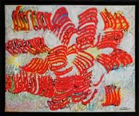 lyre or lute by charles hossein zenderoudi