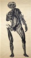 hydrogen man by leonard baskin