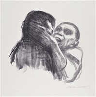 death recognized as a friend by käthe kollwitz