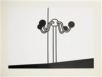 coat stand by patrick caulfield