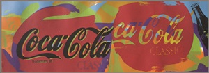coca cola label by steve kaufman