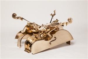 table basse «violoncelles» by arman
