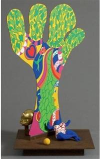 l'arbre de vie by niki de saint phalle