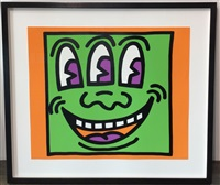 icons 5 (smiley face) by keith haring