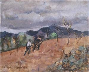 paysage by andré dunoyer de segonzac