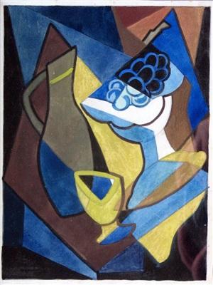 cubist still life by miss doris brabham hatt