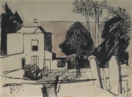 village garden by keith vaughan