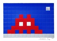 home moon by invader