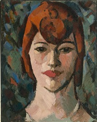 dark woman by john duncan fergusson