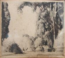 forest entrance by daniel garber