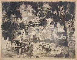 holcomb's mill by daniel garber