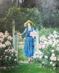 in the garden by francis coates jones