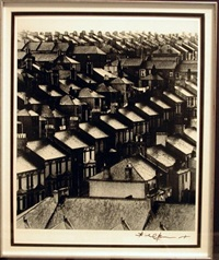 rainswept roofs #315 by bill brandt