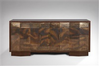 bahut / sideboard by jean dunand and eugene printz