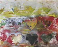 hearts in the meadow by jim dine