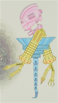 robot study in introspection by micah ganske