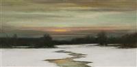 winter stillness by dennis sheehan