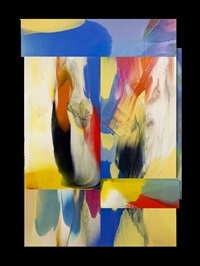 under blue by sam gilliam