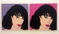 portraits of janet vilella by andy warhol