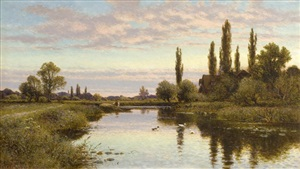 the reed cutter by alfred augustus glendening sr.