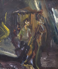 two figures by david bomberg