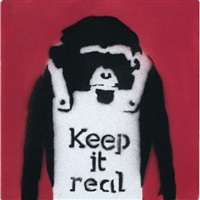 keep it real by banksy